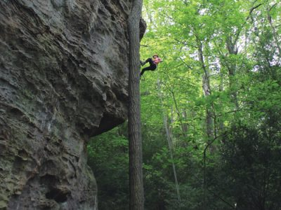 Hocking Hills Rock Climbing