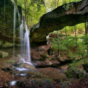 Rockbridge & Waterfall