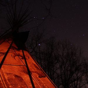 Tipi or Teepee Rentals Hocking Hills