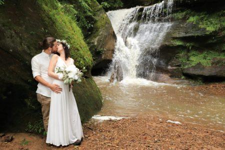 Hocking Hills Ohio Weddings and Elopements