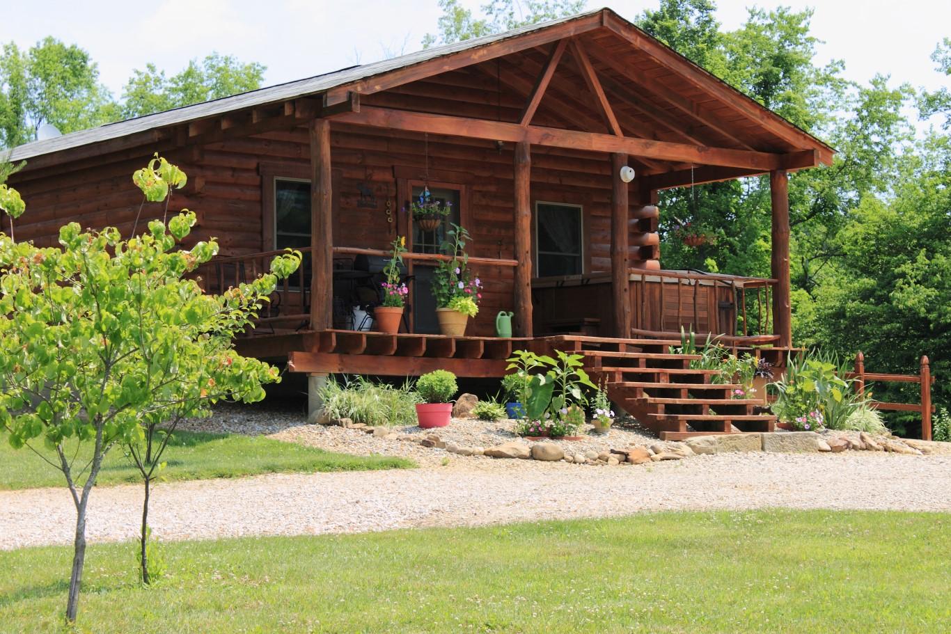 Hocking Hills Cabin Rentals Spring Season Cabin Rentals Ohio