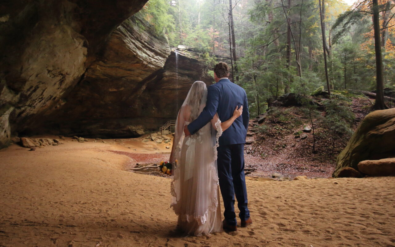 Hocking Hills Wedding